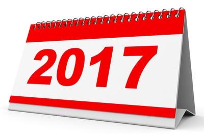 Für das Jahr 2017 gelten die